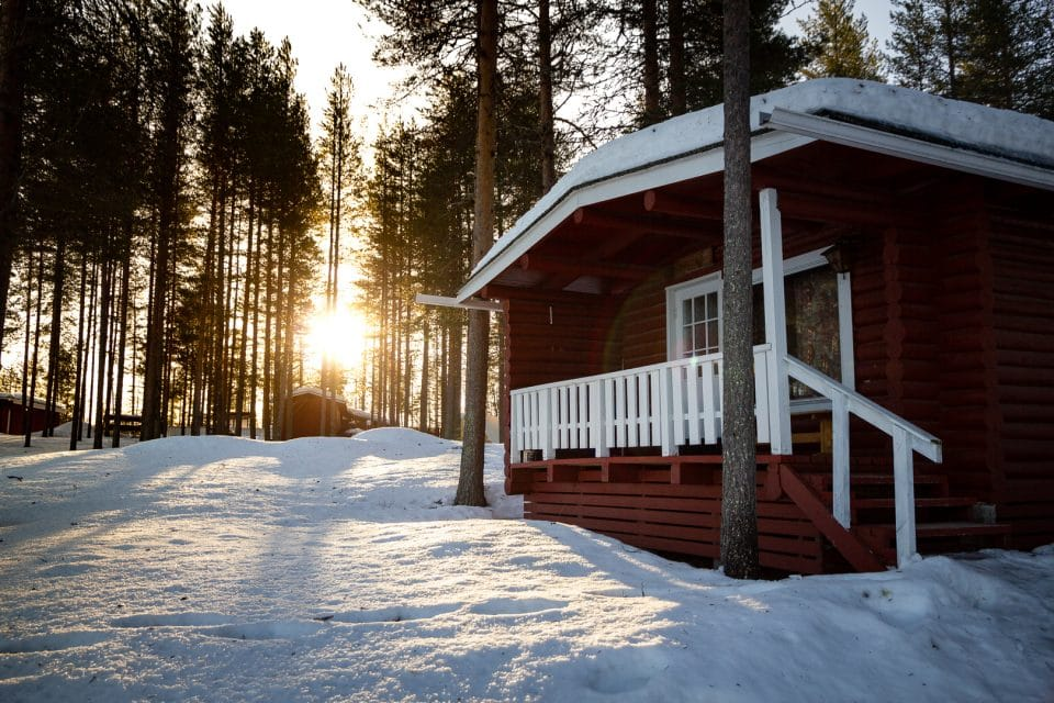 finlande-laponie-chalet