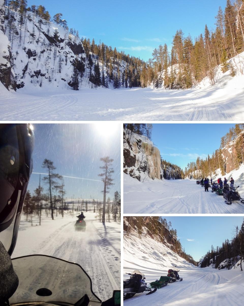 finlande motoneige