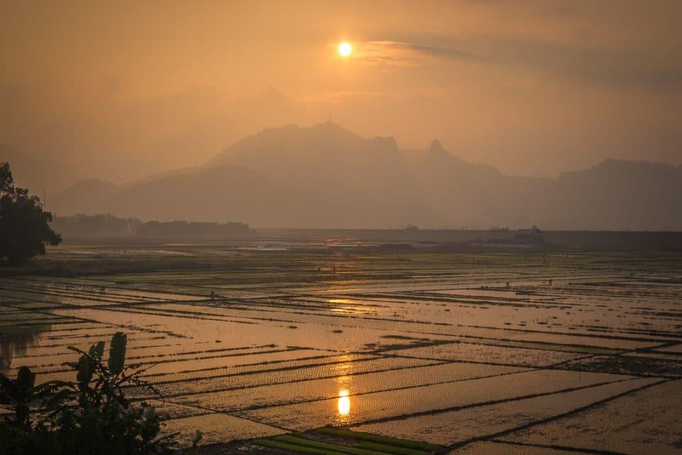 coucher de soleil Viêtnam
