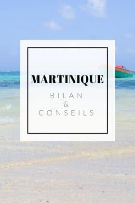 conseils voyage martinique