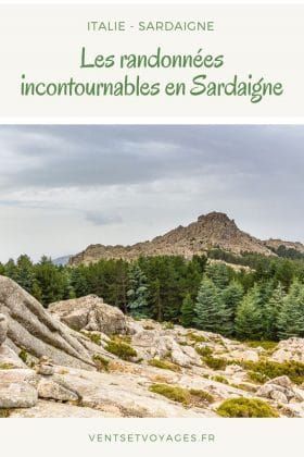 randonnées en Sardaigne