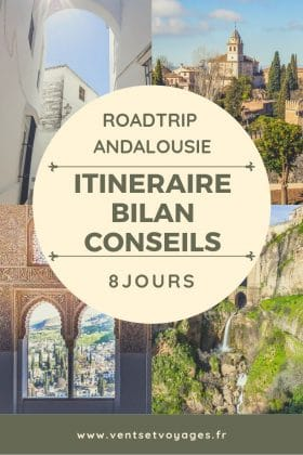 road-trip une semaine andalousie