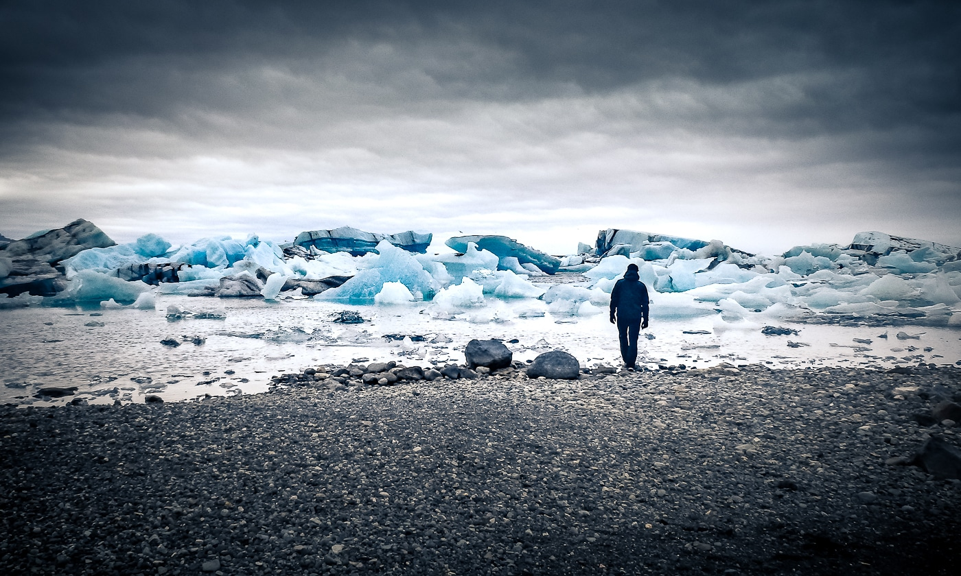 islande jokulsarlon icebergs