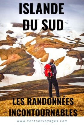 randonnées sud islande