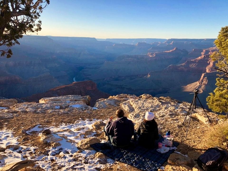 Grand Canyon hiver