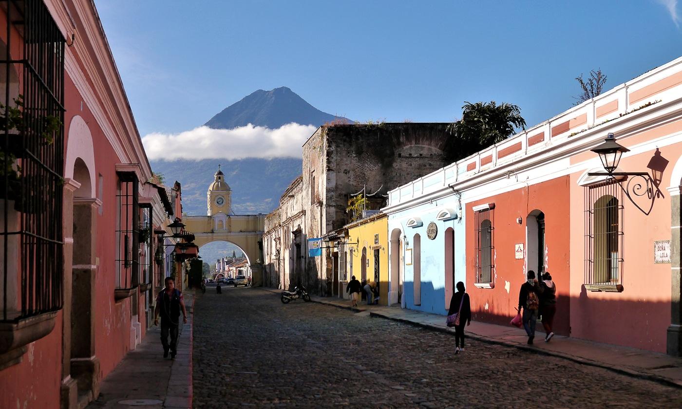 guatemala hiver volcan