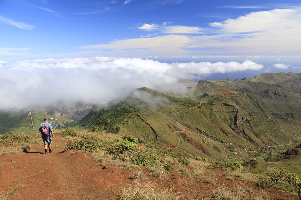Ile Sao Nicolau-Cap Vert-parc Monte Gordo