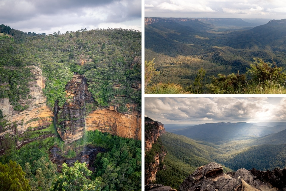 blue mountains alpes australiennes