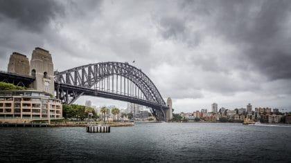 harbour bridge à sydney