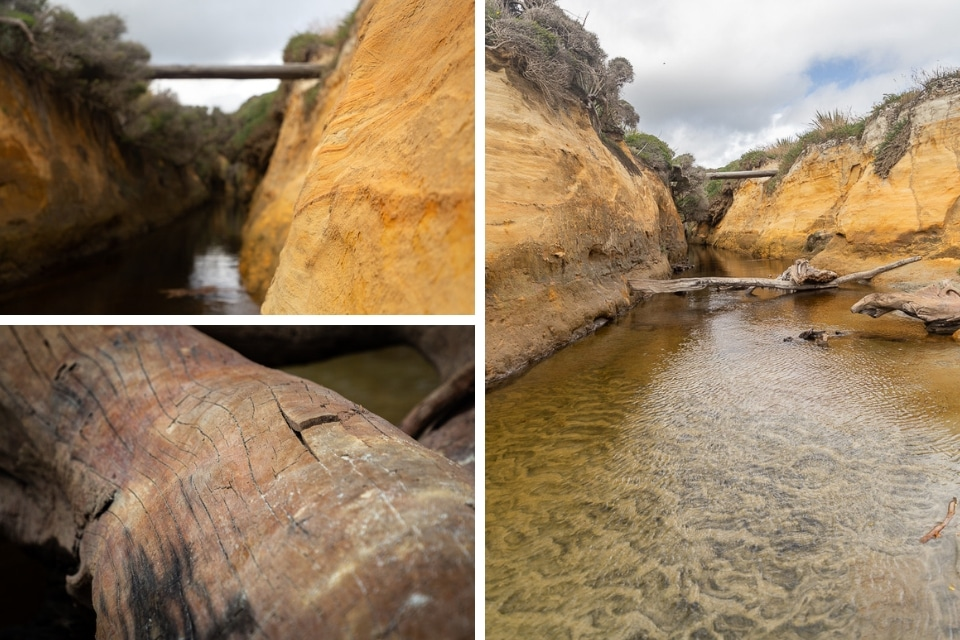 NZ-catlins gem beach