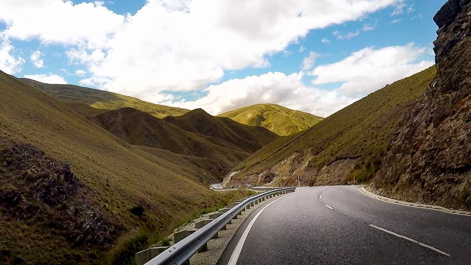Wanaka road