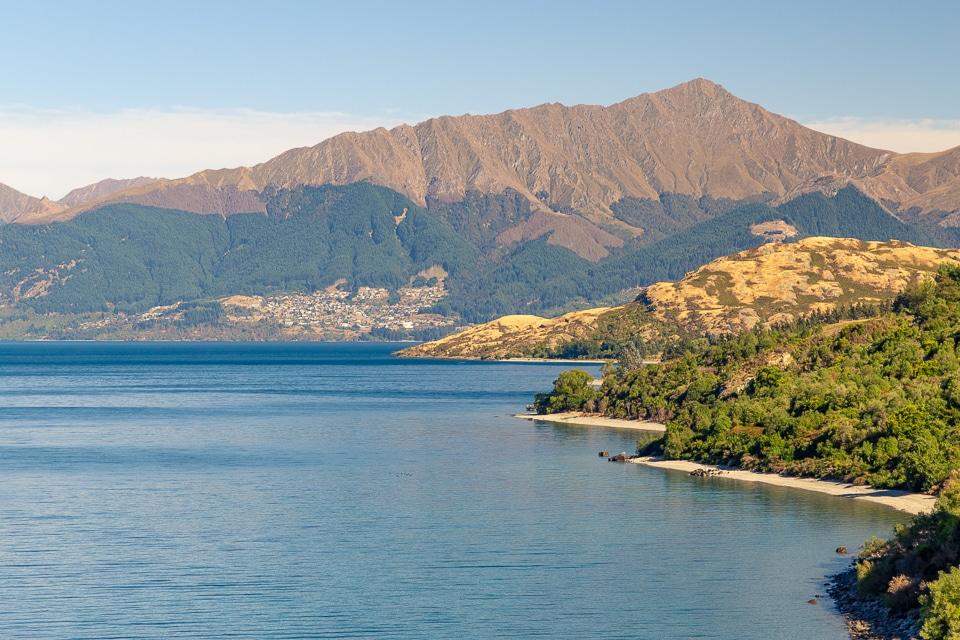 nouvelle zélande lac waikatipu