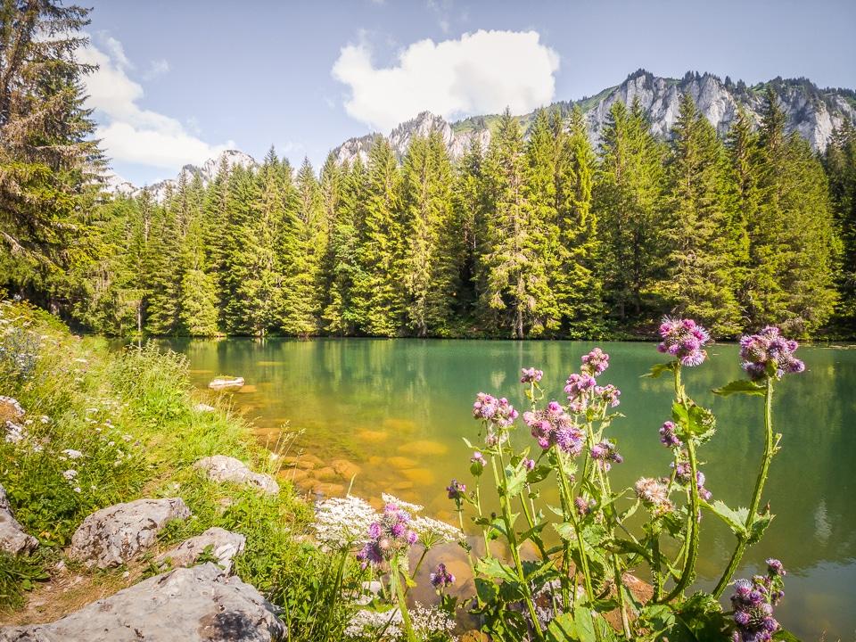 chablais lac fontaine