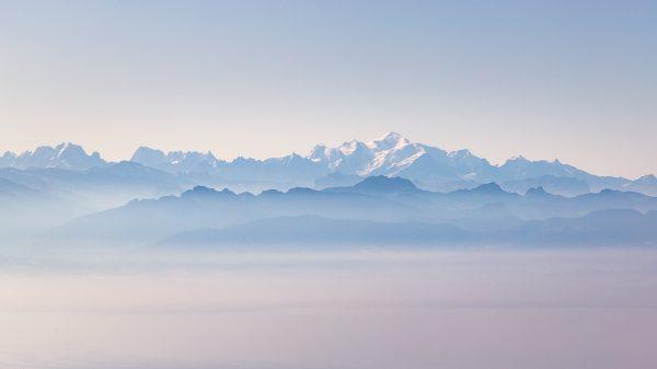mont blanc et mer de nuage