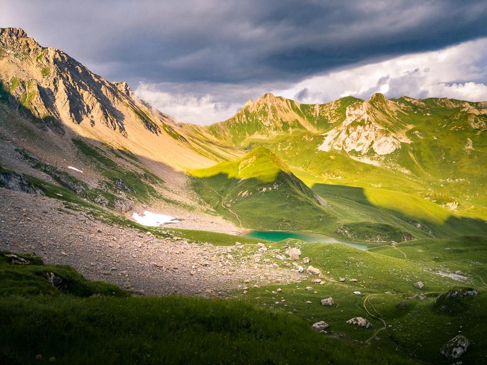 lac d'amour soleil