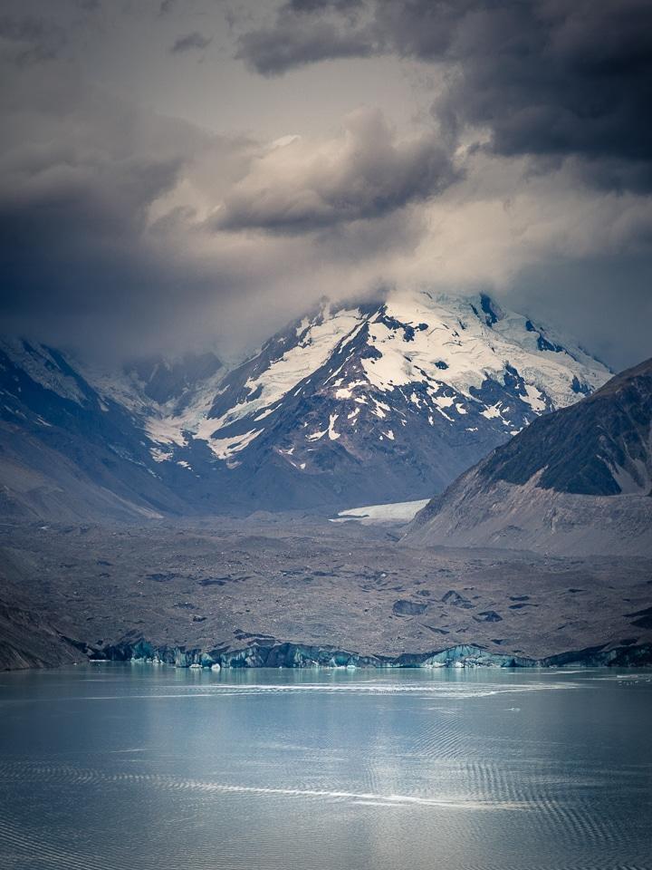 glacier tasman nouvelle zelande