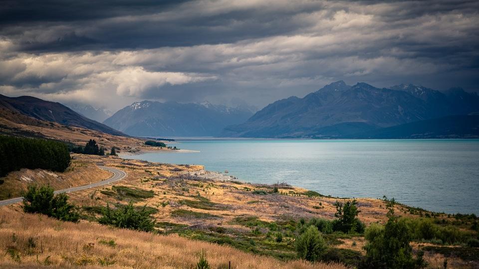 lac pukaki nouvelle zelande
