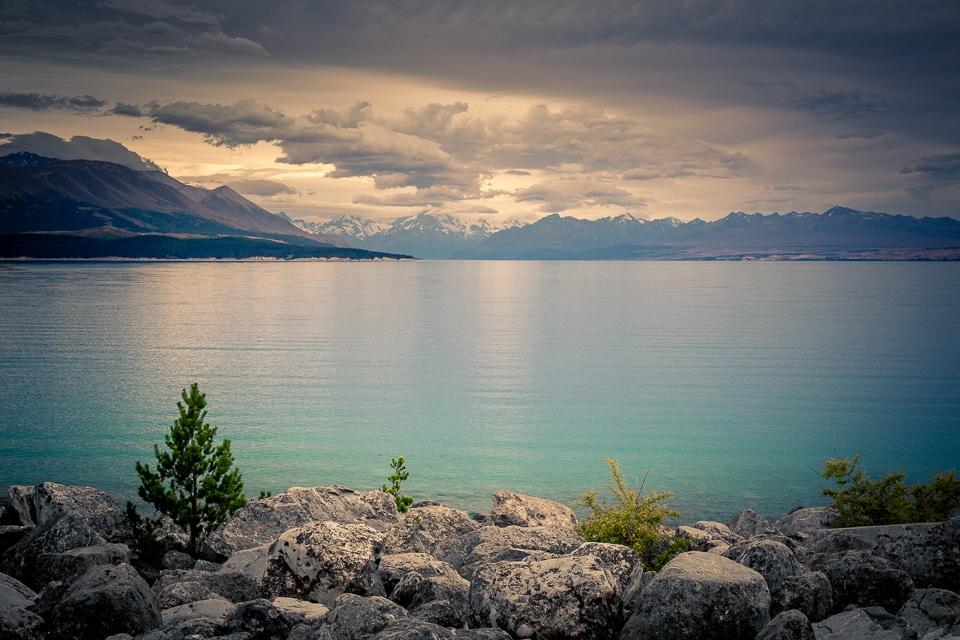 lac tekapo nouvelle zelande mont cook
