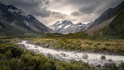 Que faire dans le parc national Aoraki – Mont Cook ?