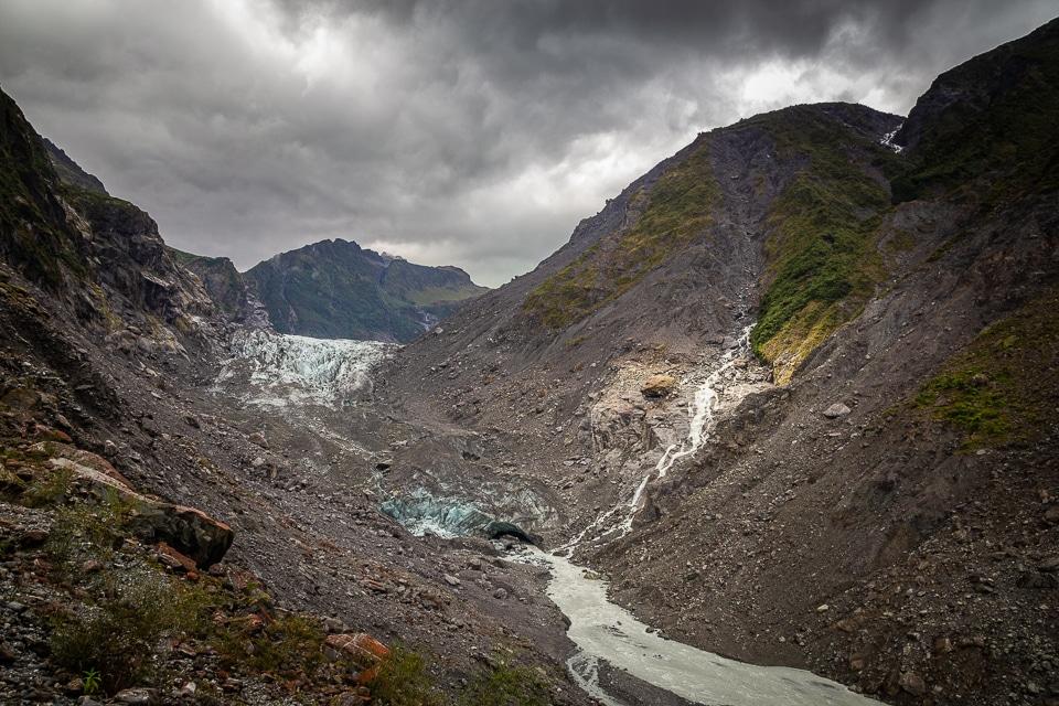 fox glacier nouvelle zélande
