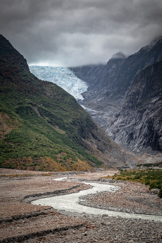 franz josef glacier nouvelle zélande
