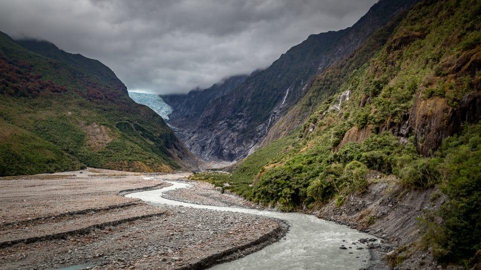 glacier de franz josef en nouvelle zélande
