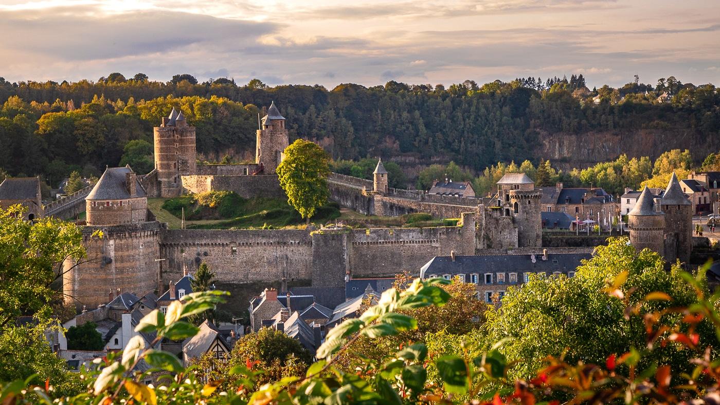 fougères forteresse château bretagne