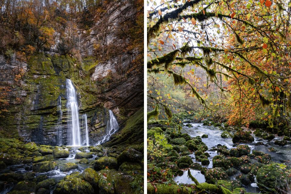 gorges flumen jura automne