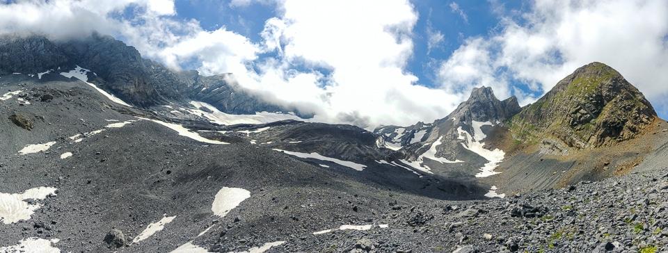 panorama glacier paneirosse