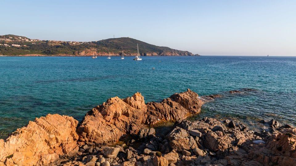 côte de Cargèse en Corse