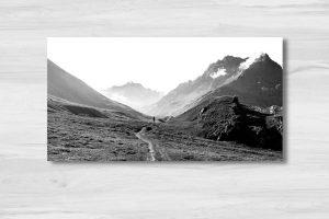 randonneur dans les Alpes