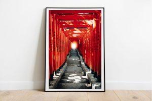 torii traditionnel au japon