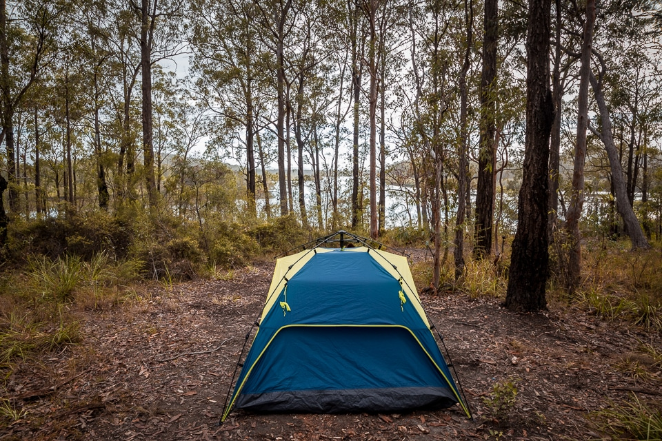 camping en australie