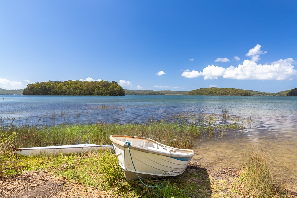 myall lake en Australie